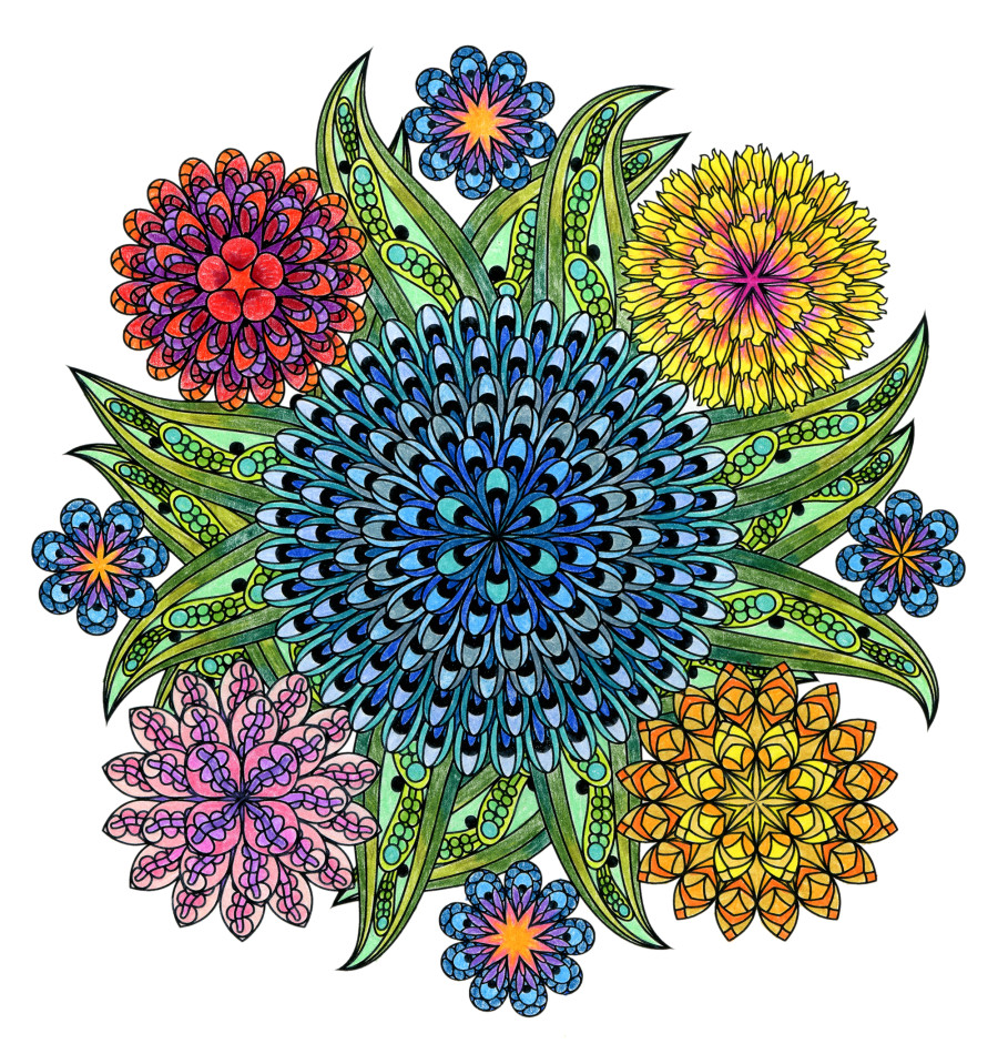 Relieve Stress Amp Find Balance By Coloring A Mandala
