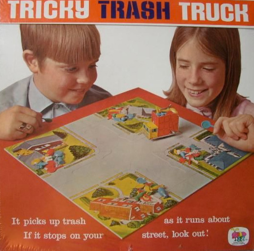 Tricky Trash Truck